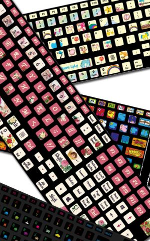 Cool Keyboard Stickers